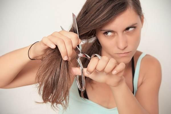 можно ли самой себе стричь волосы приметы