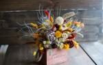 Можно ли дома держать сухие цветы дома?