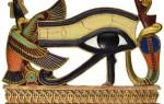 Значение египетского символа глаз Гора