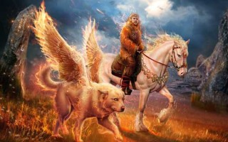 Бог огня Семаргл в славянской мифологии