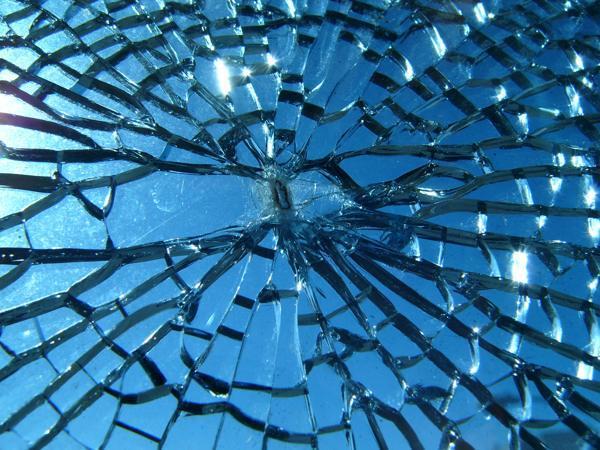 Если стеклянную вещь разбили вы