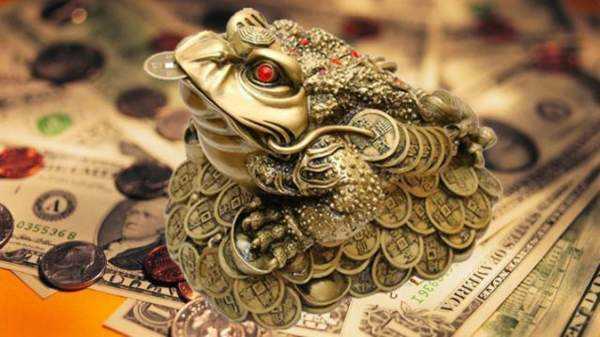 Лягушка существо, которое символизирует материальную стабильность
